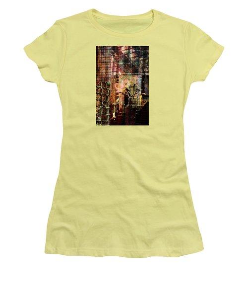 Afternoon Tea Women's T-Shirt (Junior Cut) by Don Gradner