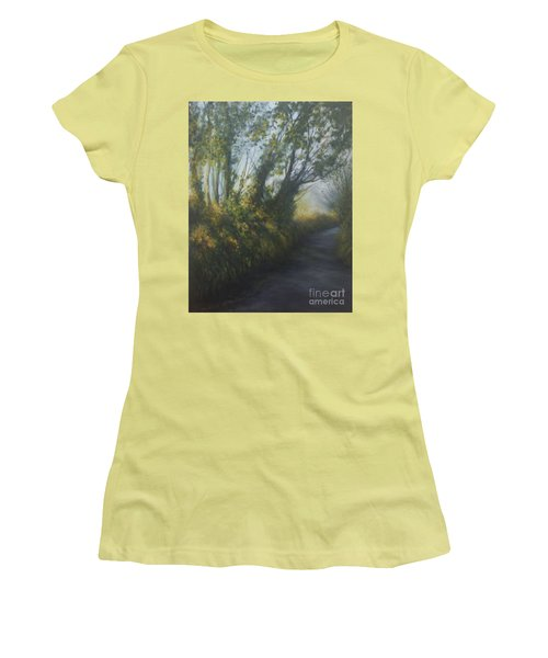 Afternoon Walk Women's T-Shirt (Athletic Fit)