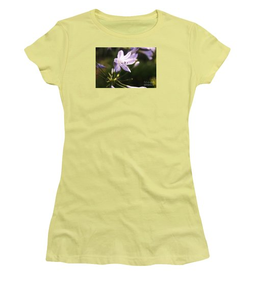 Agapanthus Women's T-Shirt (Junior Cut) by Cassandra Buckley