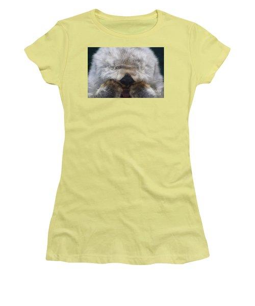 Women's T-Shirt (Junior Cut) featuring the photograph Ahhhhhhhh by Nick Gustafson
