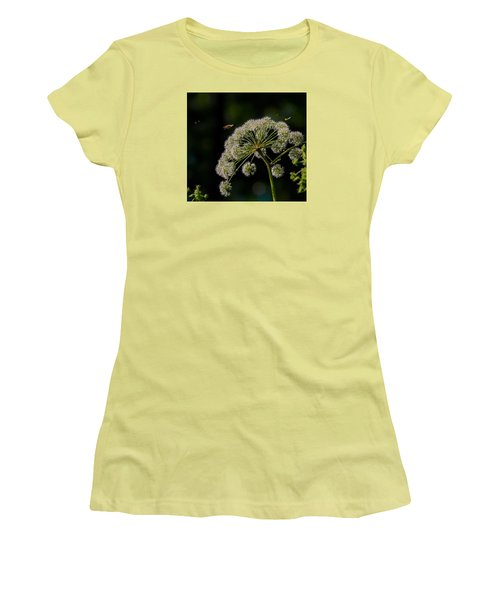 Women's T-Shirt (Junior Cut) featuring the photograph Airport by Leif Sohlman