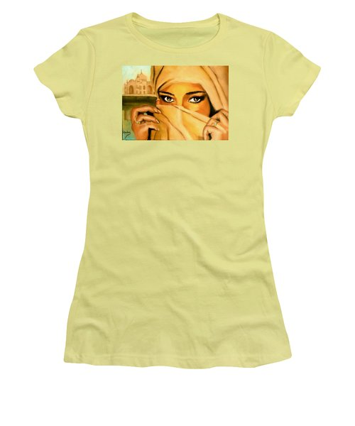 Al-andalus-3 Women's T-Shirt (Junior Cut) by Manuel Sanchez