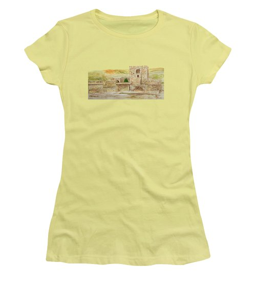 Alcazaba Of Almeria Women's T-Shirt (Athletic Fit)