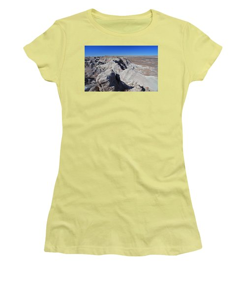Alien Landscape Women's T-Shirt (Junior Cut) by Gary Kaylor