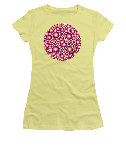 Alien Molecular Structure  Women's T-Shirt (Athletic Fit)