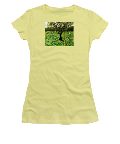 All Around The Turmoil Women's T-Shirt (Athletic Fit)