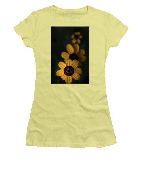 All In A Row Women's T-Shirt (Junior Cut) by Peter Scott