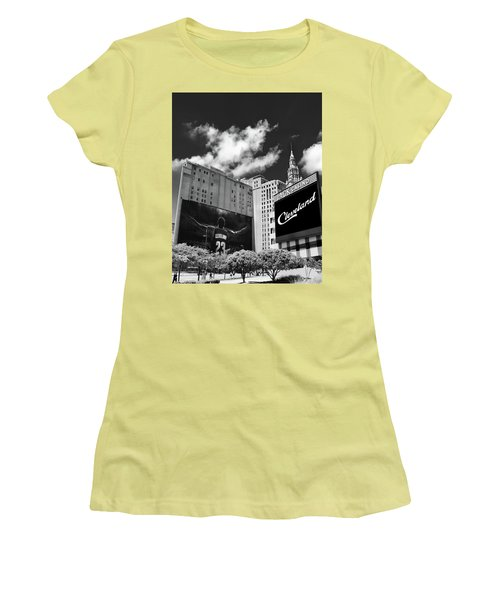 All In Cleveland Women's T-Shirt (Athletic Fit)