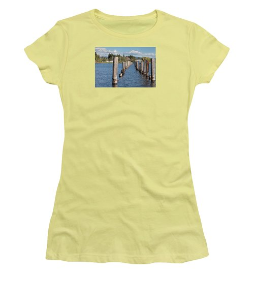 Women's T-Shirt (Athletic Fit) featuring the photograph All That Remains by Fran Riley
