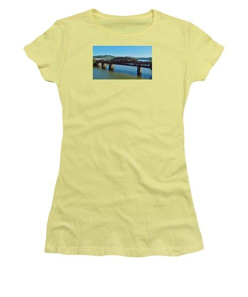 Allegheny Crossing Women's T-Shirt (Junior Cut) by William Bartholomew