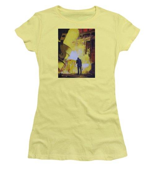 Allen Town Women's T-Shirt (Junior Cut) by Vivien Rhyan