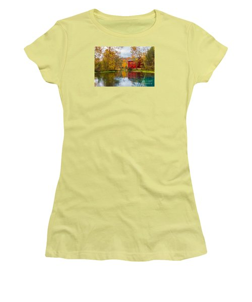 Alley Mill And Spring Women's T-Shirt (Athletic Fit)
