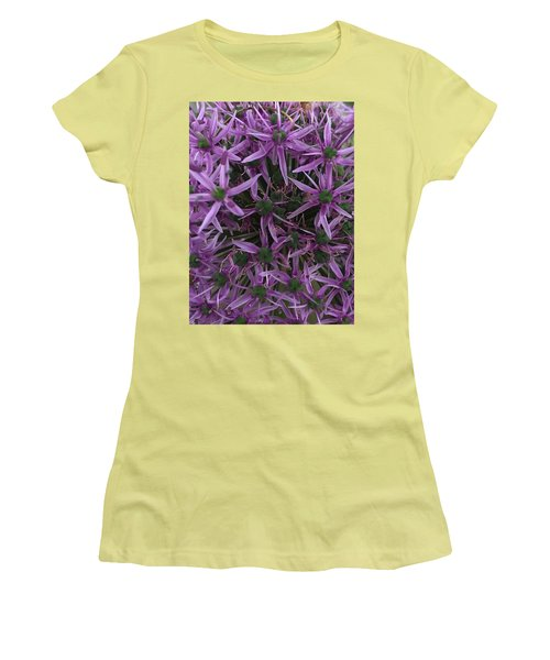 Allium Stars  Women's T-Shirt (Athletic Fit)
