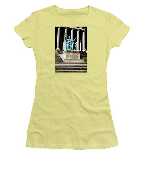 Alma Mater Women's T-Shirt (Junior Cut) by Marilyn Hunt