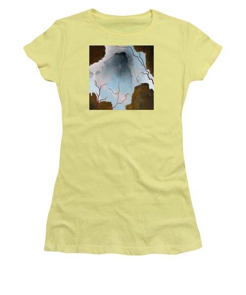 Almost Real Women's T-Shirt (Junior Cut) by Constance Krejci