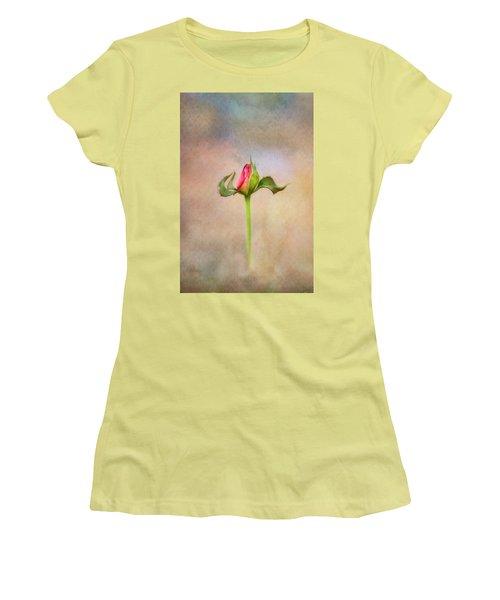 Alone Women's T-Shirt (Junior Cut) by Joan Bertucci
