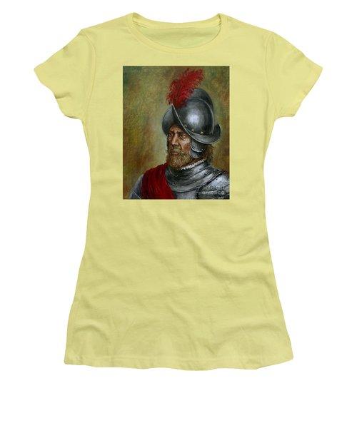 Alonso De Alvarado Women's T-Shirt (Athletic Fit)