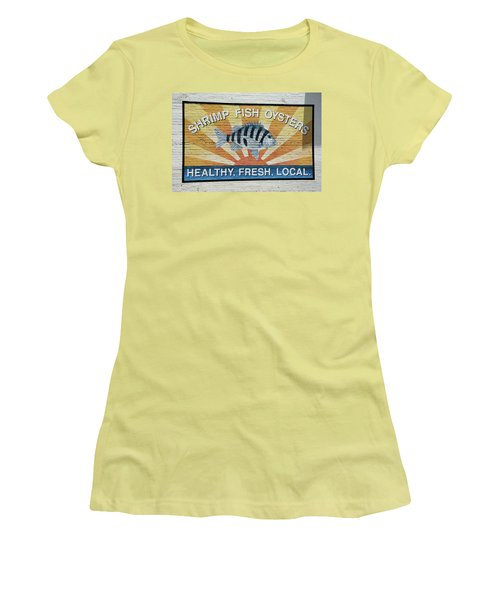 Amen Women's T-Shirt (Junior Cut) by Ed Waldrop