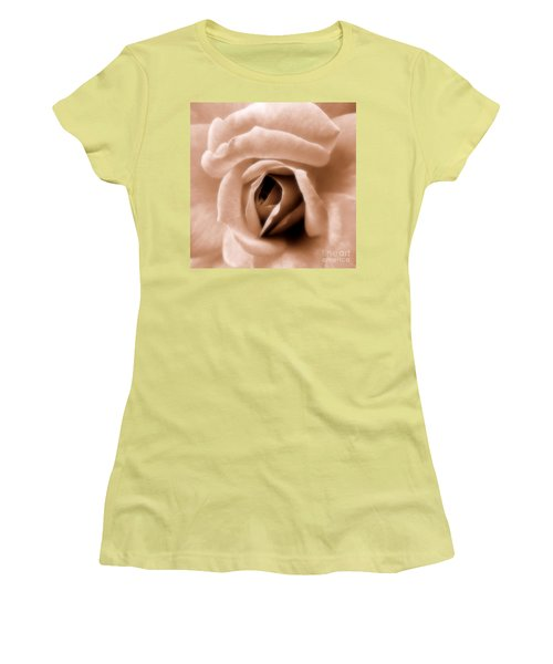 American Beauty Women's T-Shirt (Junior Cut) by A K Dayton