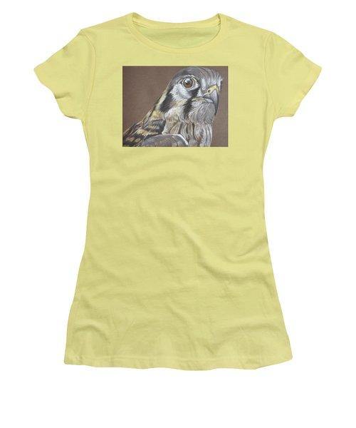 American Kestrel Women's T-Shirt (Athletic Fit)