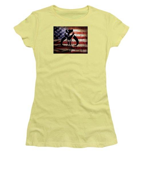 American Mandalorian Women's T-Shirt (Athletic Fit)