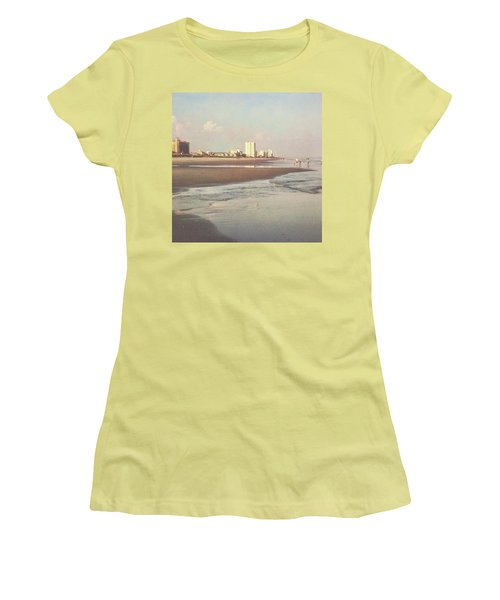 An Evening Walking The Grand Strand Women's T-Shirt (Athletic Fit)