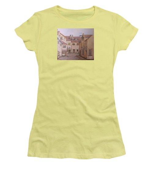 An Ode To Charles Dickens  Women's T-Shirt (Junior Cut) by Annemeet Hasidi- van der Leij