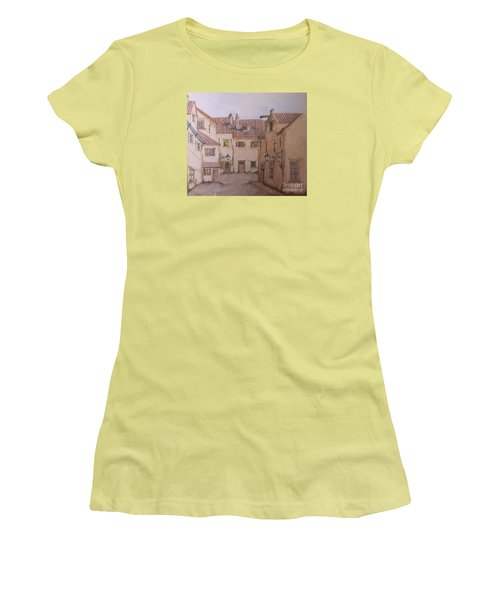 An Ode To Charles Dickens  Women's T-Shirt (Athletic Fit)