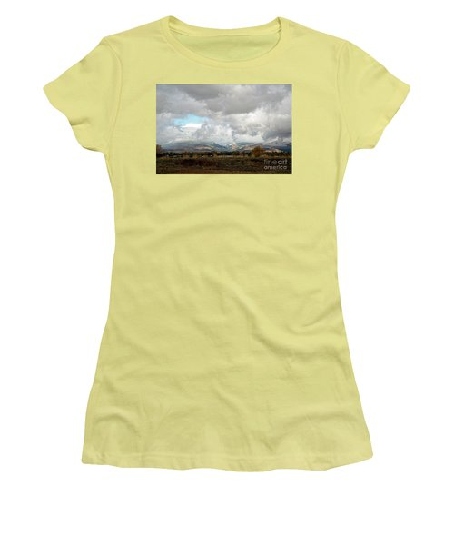 Anaconda Range Women's T-Shirt (Junior Cut) by Cindy Murphy - NightVisions