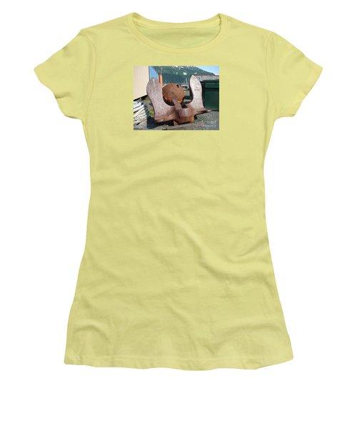 Anchor Women's T-Shirt (Junior Cut) by Lew Davis