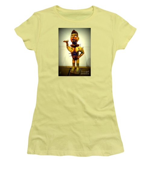 Ancient African Arifact Women's T-Shirt (Junior Cut) by John Potts