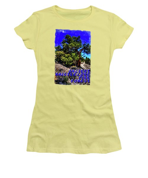 Ancient Bristlecone Pine Tree Women's T-Shirt (Athletic Fit)