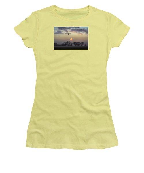And Finally Women's T-Shirt (Junior Cut) by Gary Eason