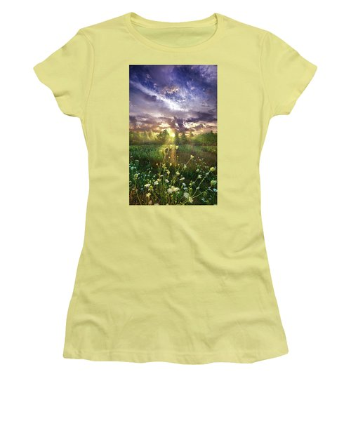 And In The Naked Light I Saw Women's T-Shirt (Athletic Fit)