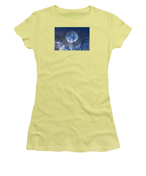 And Now Its Time To Say Goodnight Women's T-Shirt (Junior Cut) by John Rivera