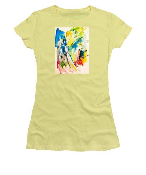 Angel Women's T-Shirt (Junior Cut) by Amara Dacer