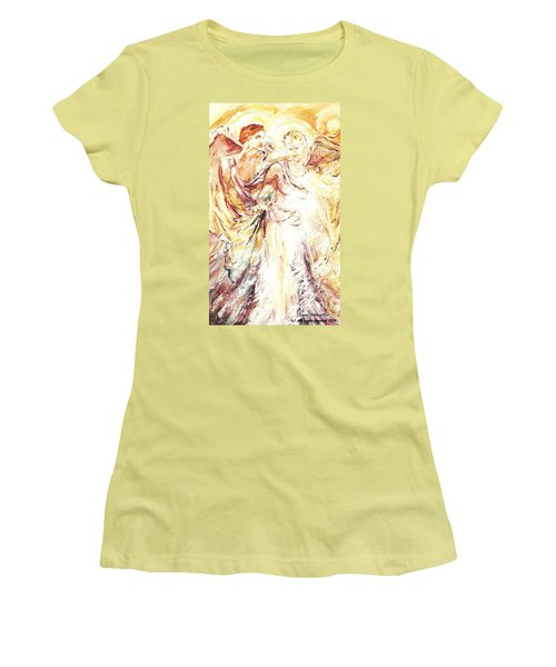 Angels Emerging Women's T-Shirt (Athletic Fit)