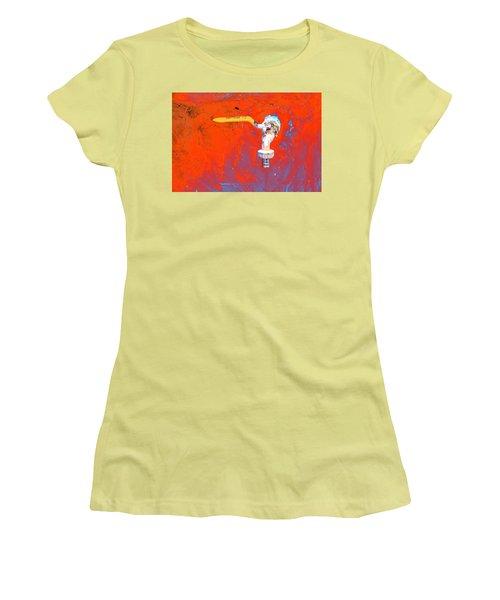 Aniatah Women's T-Shirt (Junior Cut) by Jez C Self
