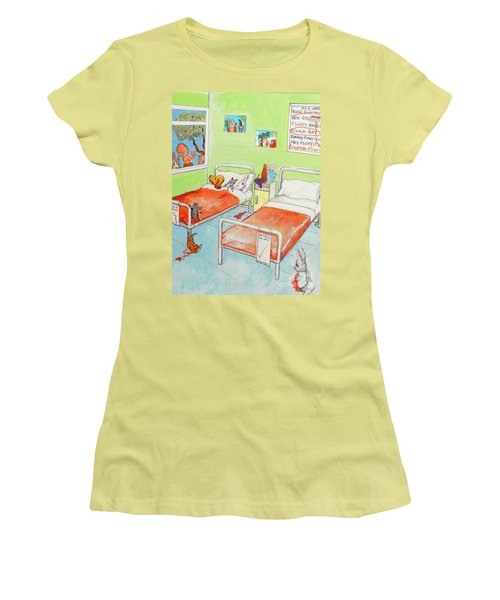 Animals Women's T-Shirt (Athletic Fit)