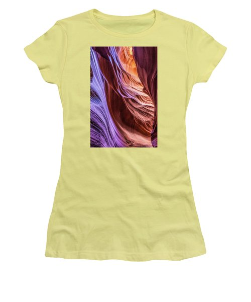 Antelope Canyon Air Glow Women's T-Shirt (Athletic Fit)