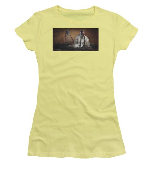 Anticipation Women's T-Shirt (Junior Cut)