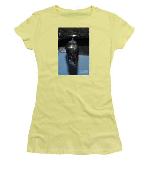 Women's T-Shirt (Junior Cut) featuring the photograph Any Moment Now by Lew Davis