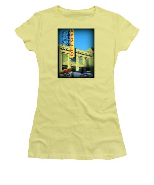 Apollo Vignette Women's T-Shirt (Athletic Fit)