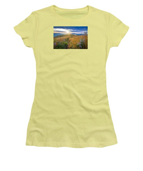 Appalachian Sunrise Women's T-Shirt (Athletic Fit)