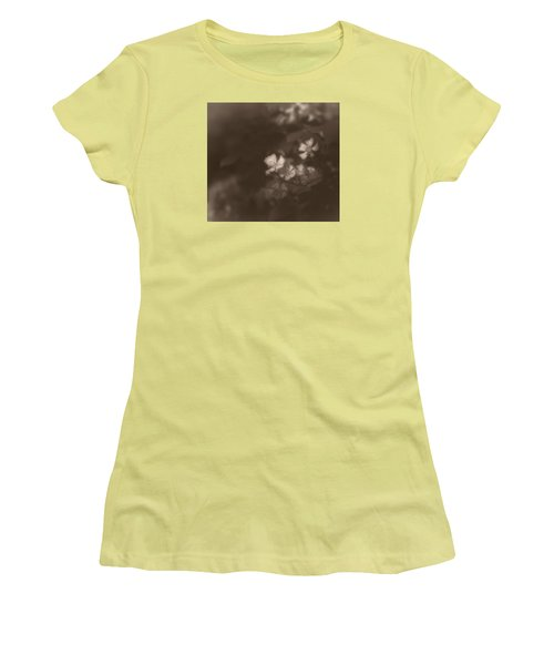 Apple Blossom 1 Women's T-Shirt (Junior Cut) by Simone Ochrym