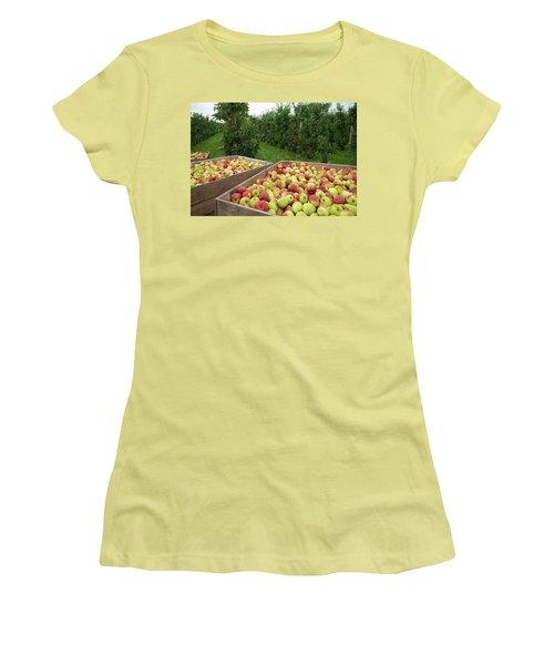 Apple Harvest Women's T-Shirt (Athletic Fit)