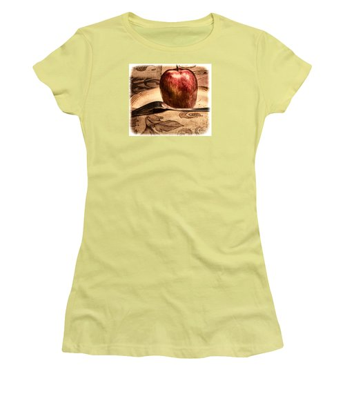 Apple Women's T-Shirt (Athletic Fit)