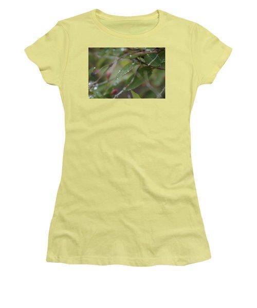 April Showers 1 Women's T-Shirt (Junior Cut) by Antonio Romero