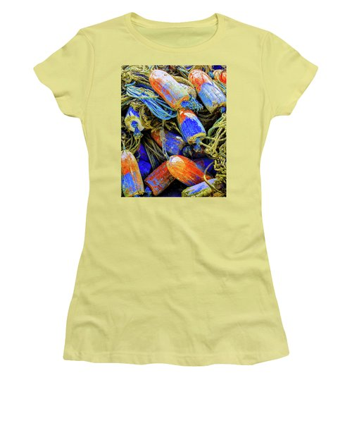 Aqua Hedionda Women's T-Shirt (Junior Cut) by Jeffrey Jensen