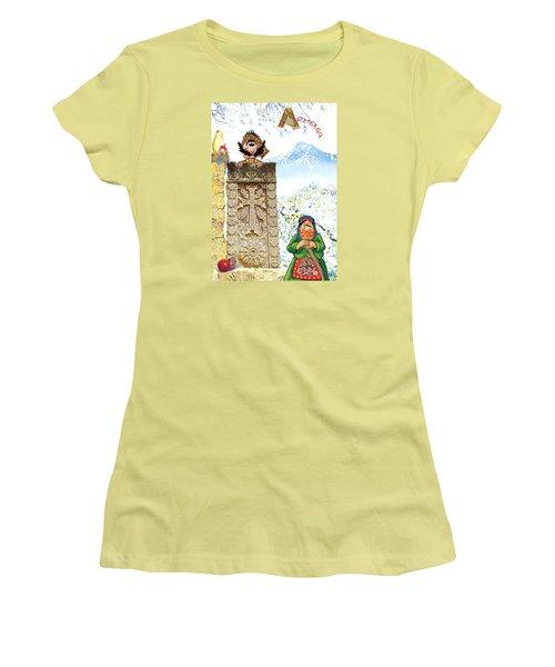 Armenia Women's T-Shirt (Athletic Fit)
